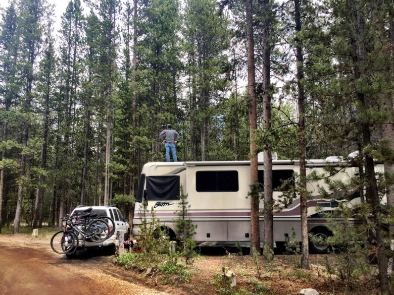 Yellowstone National Park RV